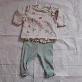 Next top & leggings outfit  1 month