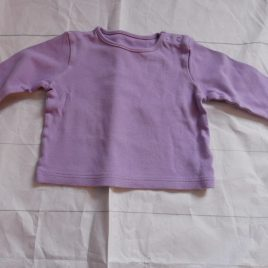 M&S lilac top 3-6 months