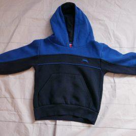 Slazenger blue hoodie jumper 2-3 years