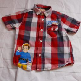 Fireman Sam shirt 2-3 years