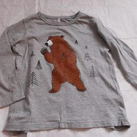 M&S grey bear top 2-3 years