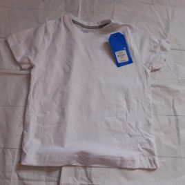 New white t-shirt 18-24 months