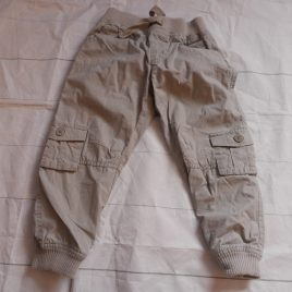 Stone cargo trousers 2-3 years