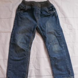 Rib waisted jeans 3-4 years