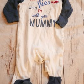 Mummy sleep suit up to 1 month