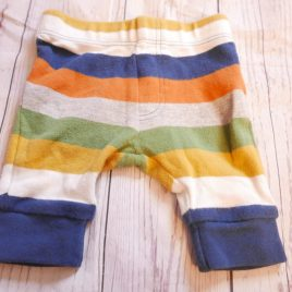 Mothercare stripy trousers new baby