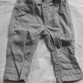 Grey trousers 0-3 months