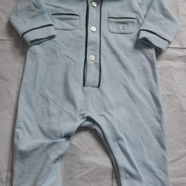 Emile art Rose romper outfit 0-3 months