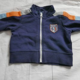 GAP navy cardigan 0-3 months