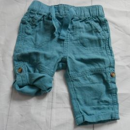 Aqua rolled leg trousers 0-3 months