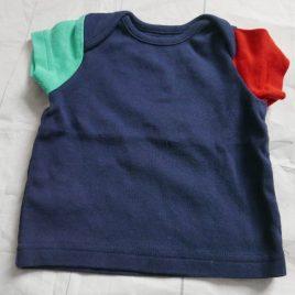 Navy t-shirt 0-3 months