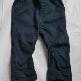 Navy trousers 3-6 months
