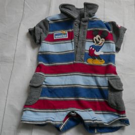 Disney Store Mickey Mouse romper 3-6 months