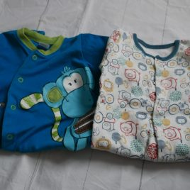 x2 sleepsuits 3-6 months