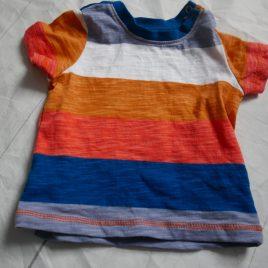 Stripy t-shirt 3-6 months