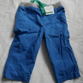 New blue trousers 6-9 months