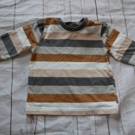 Brown & orange top 9-12 months