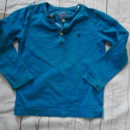 Joules turquoise blue top 4 years
