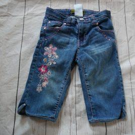 Denim flowers shorts 5 years