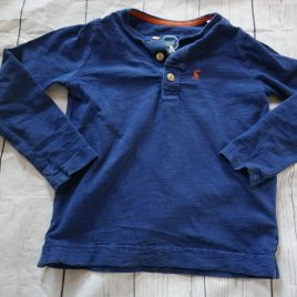 Joules navy blue top 3 years