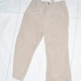 Stone cord trousers 2-3 years