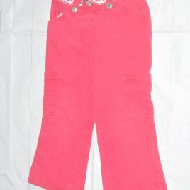 Pink trousers 2-3 years