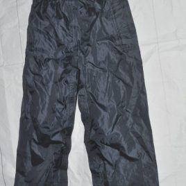 Next navy waterproof trousers 4 years