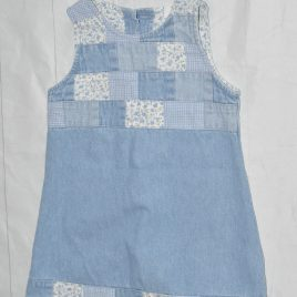 Next patchwork denim pinafore dress 2 years