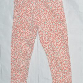 Orange pattern leggings 2-3 years
