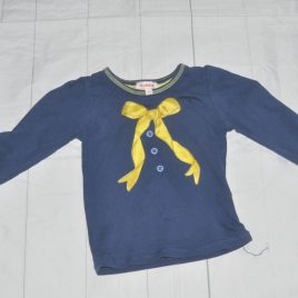 Navy with bow top 2-3 years