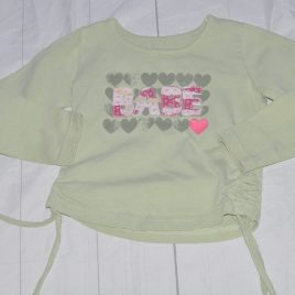 Lime green 'Babe' top 2-3 years
