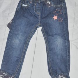 Star embroidered jeans 2-3 years