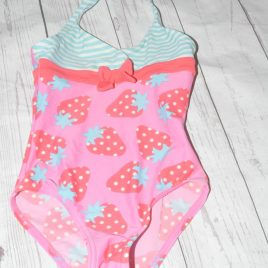 John Lewis strawberry swimming costume 2 years