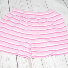 Pink stripy shorts 2-3 years