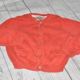 Next Red/Orange cardigan 2-3 Years