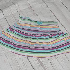 Rainbow striped skirt 5 years