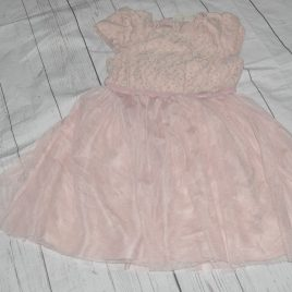 Next Dusky Pink Dress 4-5 years