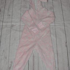 Pink Bunny Ears Onesie 4-5 years
