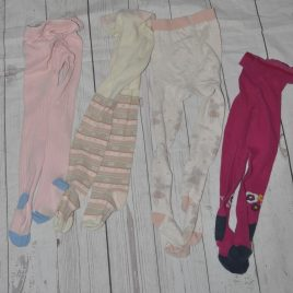 x4 Pairs of tights 2-3 years