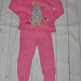 Next pink spotty Peter Rabbit pyjamas 3-4 years