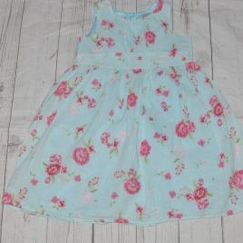 Blue Flowers Dress 2-3 Years