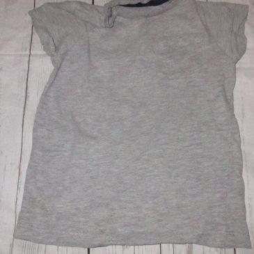 Grey t-shirt 3-4 years