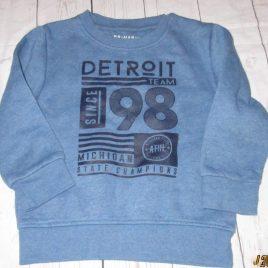 Blue sweatshirt jumper 3-4 years