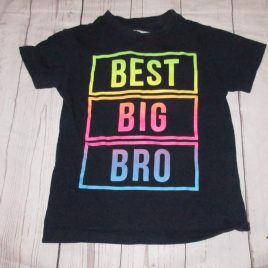 Next 'Best Big Bro' navy t-shirt 2-3 years