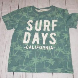 H&M surf days' T-shirt 2-4years