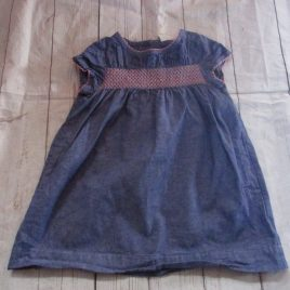 Boden blue dress 2-3 years