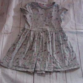 Grey rabbit dress 2-3 years