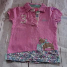 Joules pink 3 T-shirt 3 years