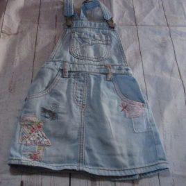 Next denim pinafore dress 2-3 years