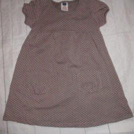 Brown spotty dress 3-4 years